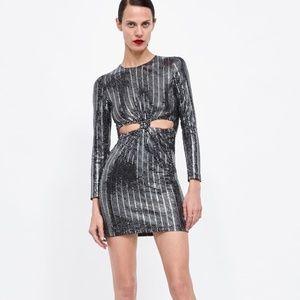 3cdc4b9bb69c Women Sequin Dress Zara on Poshmark